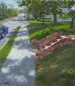 Summer Sidewalk